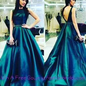 Happy Holidays to you! Win a free gown by visiting